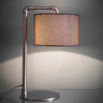 GT Hotel Table lamp Light - Matt Nickel