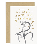 OLD ENGLISH CO. Gentleman Fantastically Brilliant Card
