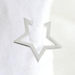 Lisa Angel Sterling Silver Star earcuff