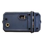 IRON RANGE Rim Lock Latch with Slide Bolt Cast Iron MEDIUM 150mm