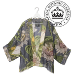 ONE HUNDRED STARS KEW Kimono Passion Flower Grey