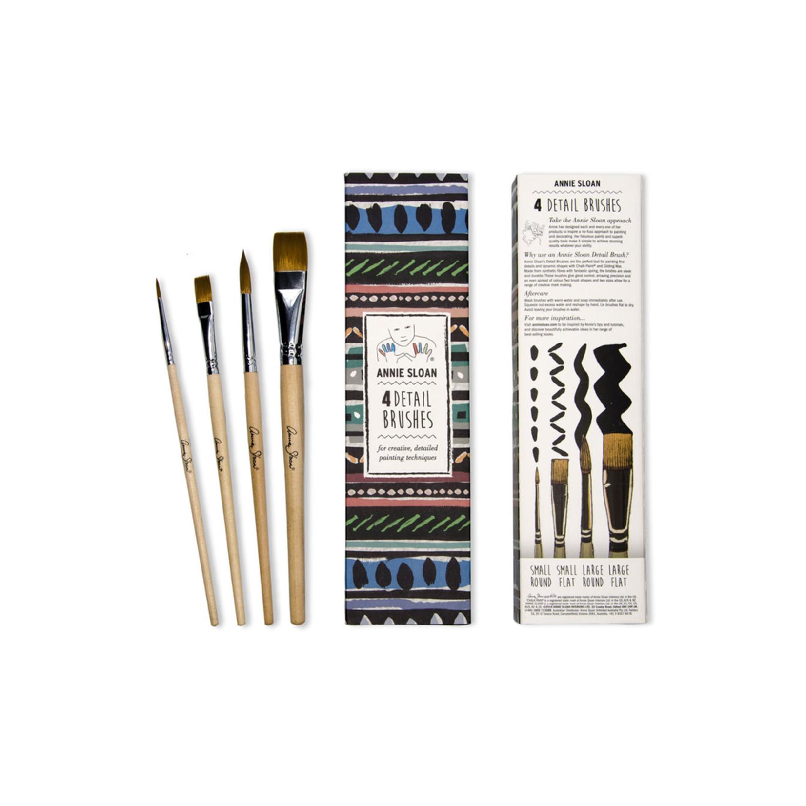 Annie Sloan Annie Sloan Detail Brushes - 4 Pack