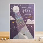 Louise Tiler DAD STARS CARD