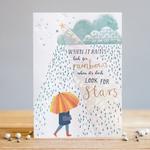 Louise Tiler RAINBOW STAR CARD