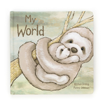 Jellycat Jellycat My World Sloth Book