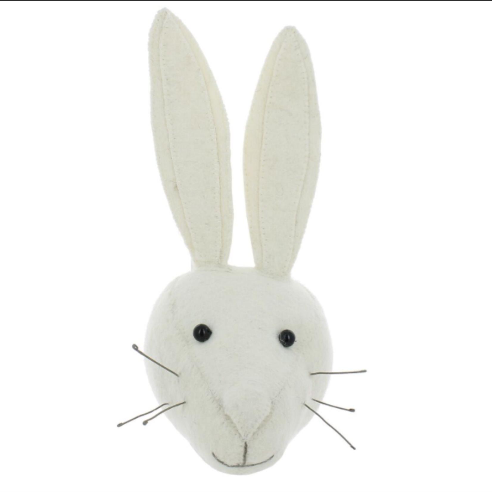 Fiona Walker Fiona Walker Mini White Rabbit Head