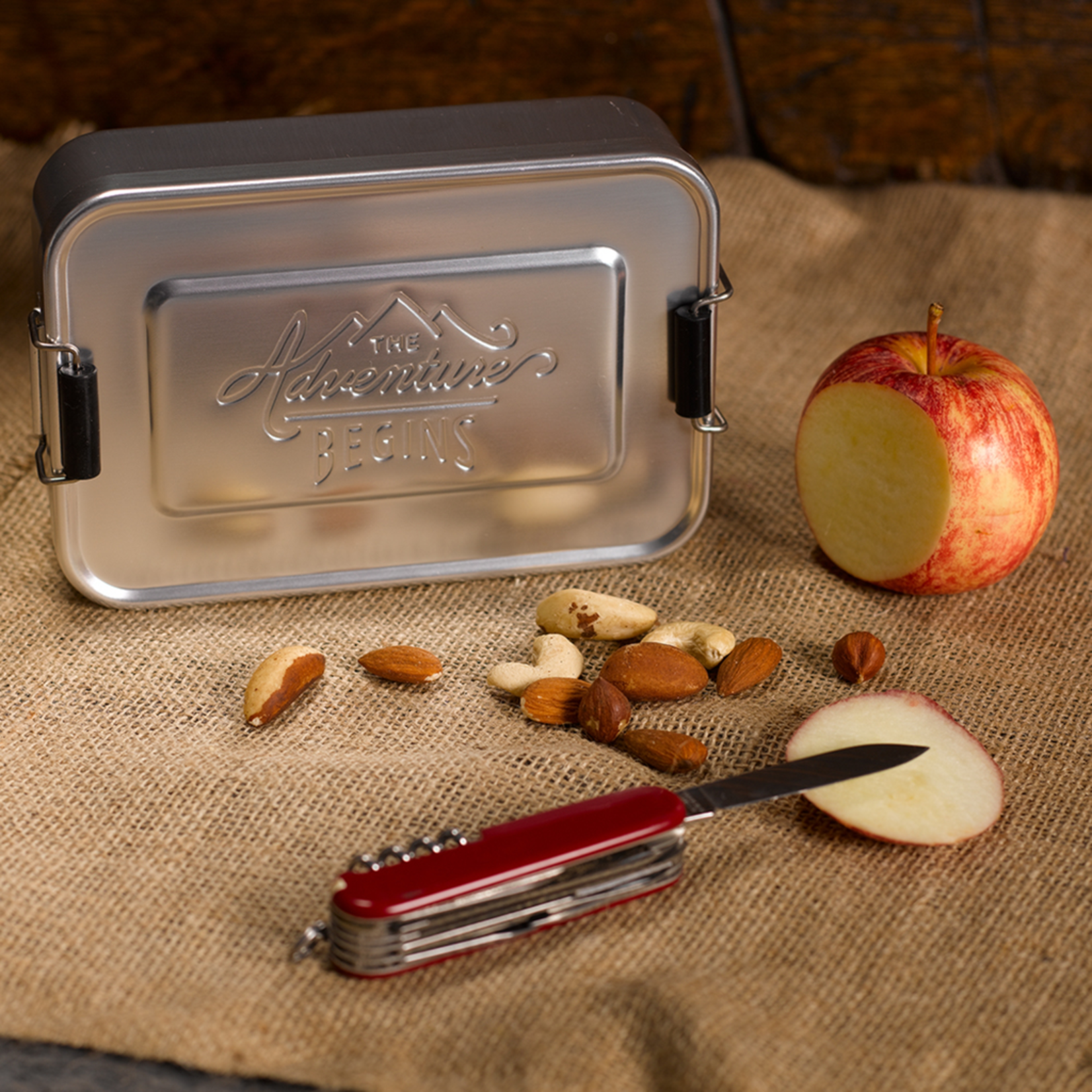 Gentlemen's Hardware Gentlemen's Hardware Silver Lunch Tin