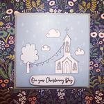 Homebird Homebird Church Christening Card
