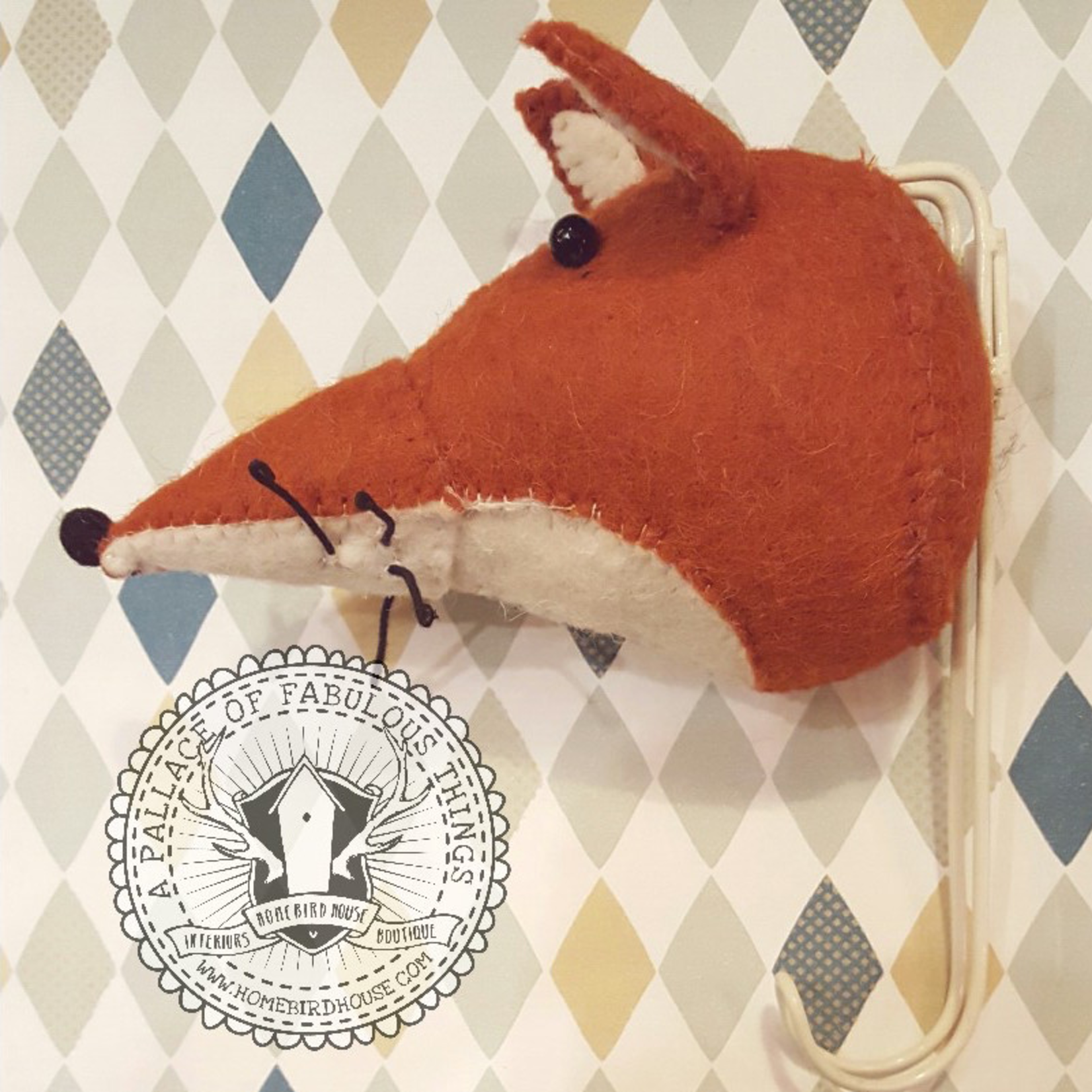Fiona Walker Fiona Walker Felt big single fox hook