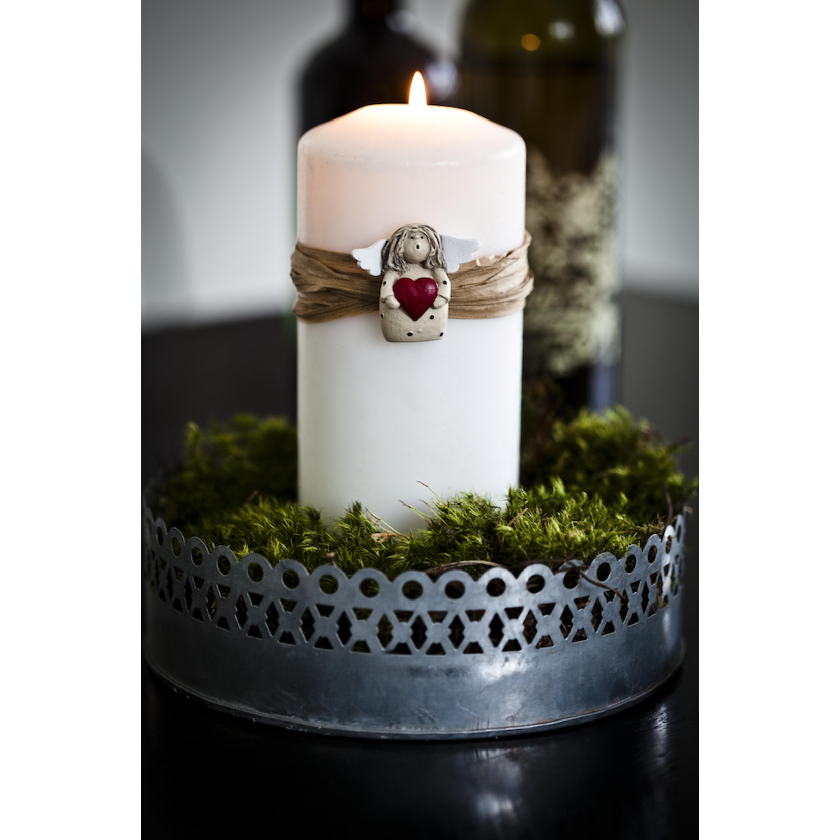 Urban Outline Candle Decor Angel 4
