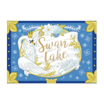 My Design co Winter Swan Lake Music Box Card