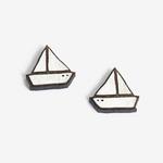Materia Rica Materia Rica Little Boat Earrings