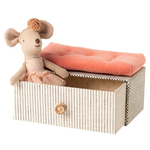 Maileg Maileg Dancing mouse in daybed, Little sister - New Maileg