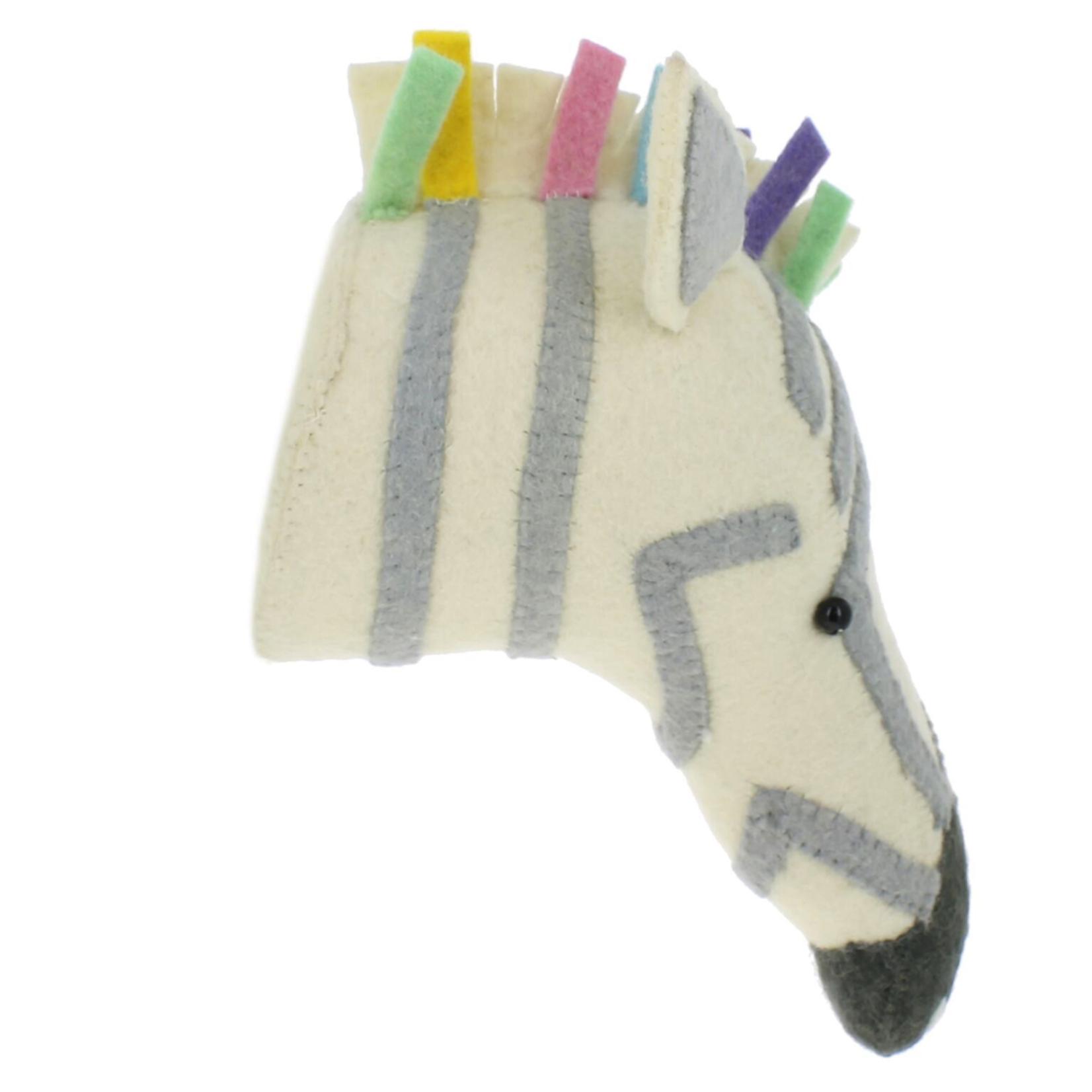 Fiona Walker Fiona Walker Semi Pastel Safari Zebra Head