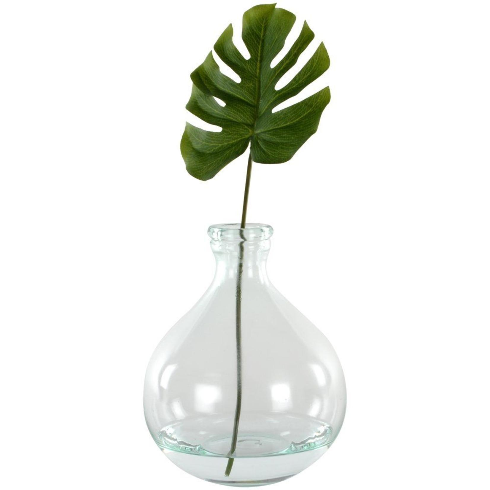 Grand Interiors Glass Apothecary Vase Small 18x22cm