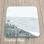 Homebird Coaster Cayton Bay - Alex Anderson Scarborough Single Tableware