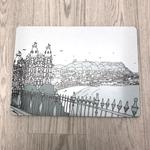 Homebird Placemat Grand Hotel Castle - Alex Anderson Scarborough Single Tableware