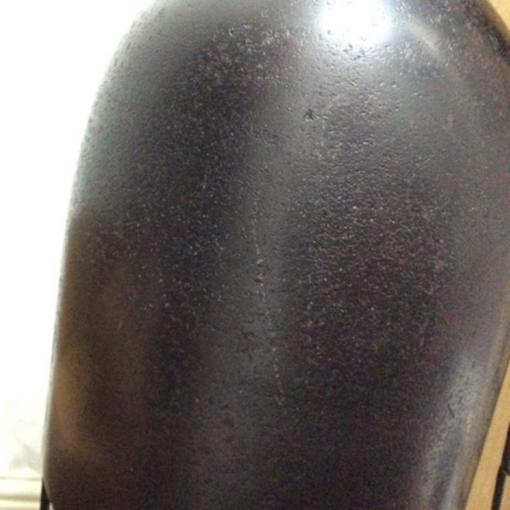 Light & Living DISCOUNTED Undine antique bronze & black hanging lamp 16x50cm - scratched