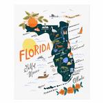 Rifle Rifle Florida Art Print 11x14 Inches
