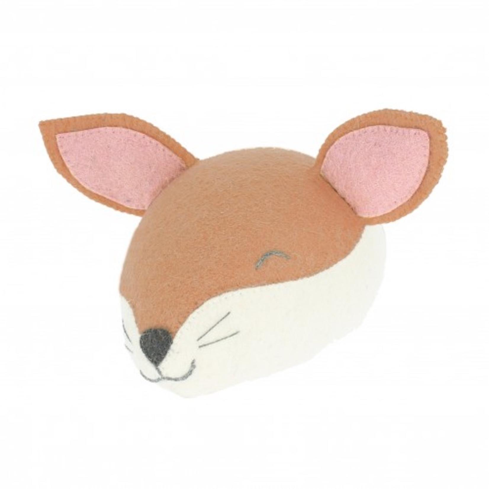 Fiona Walker Fiona Walker Mini Sleepy Fox Head