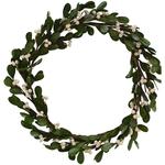 Grand Interiors Mistletoe White Berry Wreath d30cm