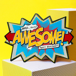 My Design co Awesome Bro Birthday Cracker Card