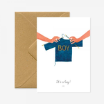 All The Ways To Say It's a Boy Card