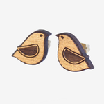 Materia Rica Materia Rica Gold Dove Earrings