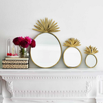 BoDuck Pineapple Mirrors LARGE 32 x 52cm