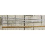 "IRON RANGE Hairpin Leg 3 Prong Galvanised 28"" / 710mm"