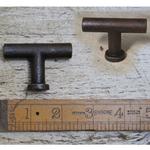 IRON RANGE Pull Handle Tee Bar Antique Iron