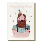 Stormy Knight Birthday Beardy Card