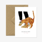 All The Ways To Say Cat's Hug Card