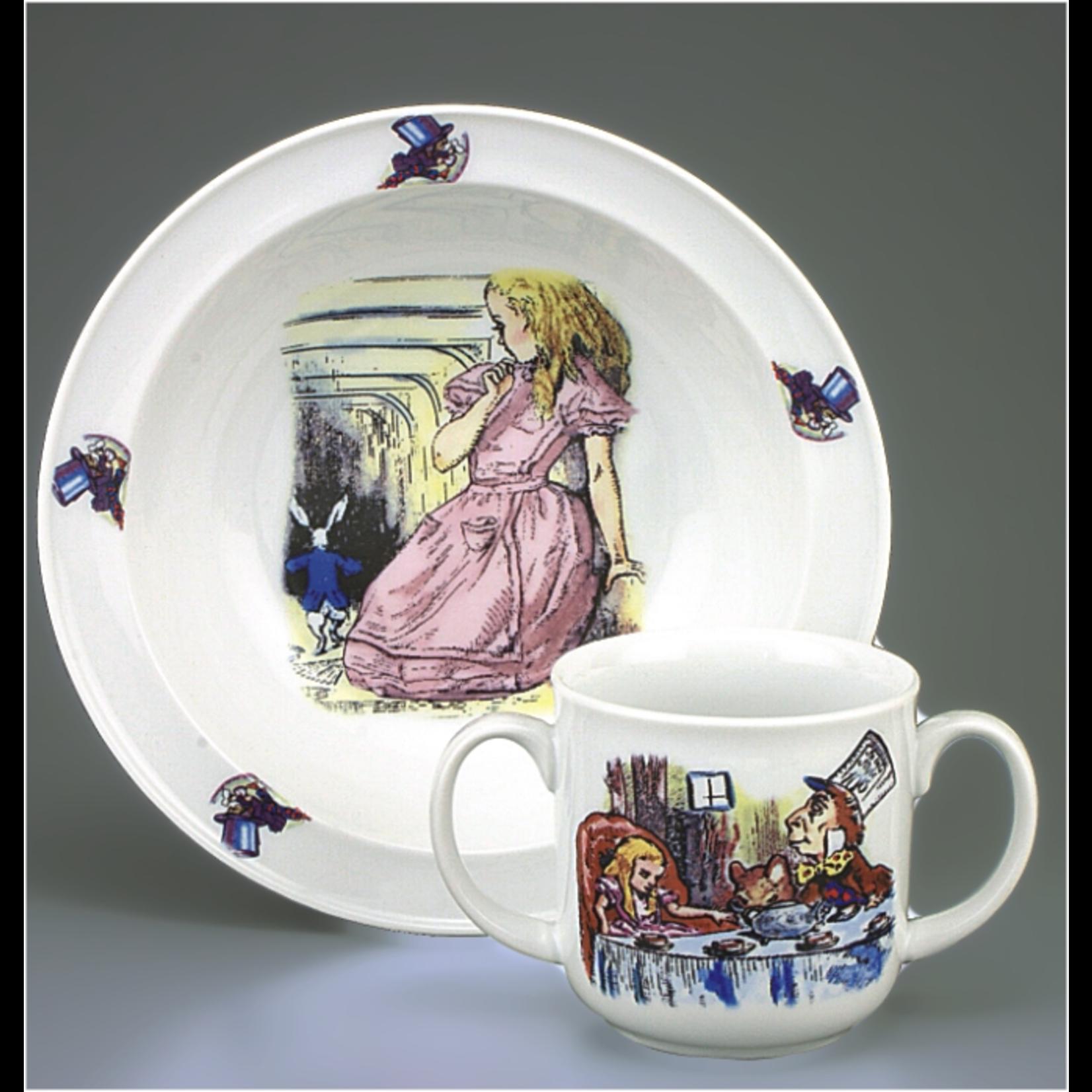 Reutter Porcelain Alice in Wonderland Toddler Set