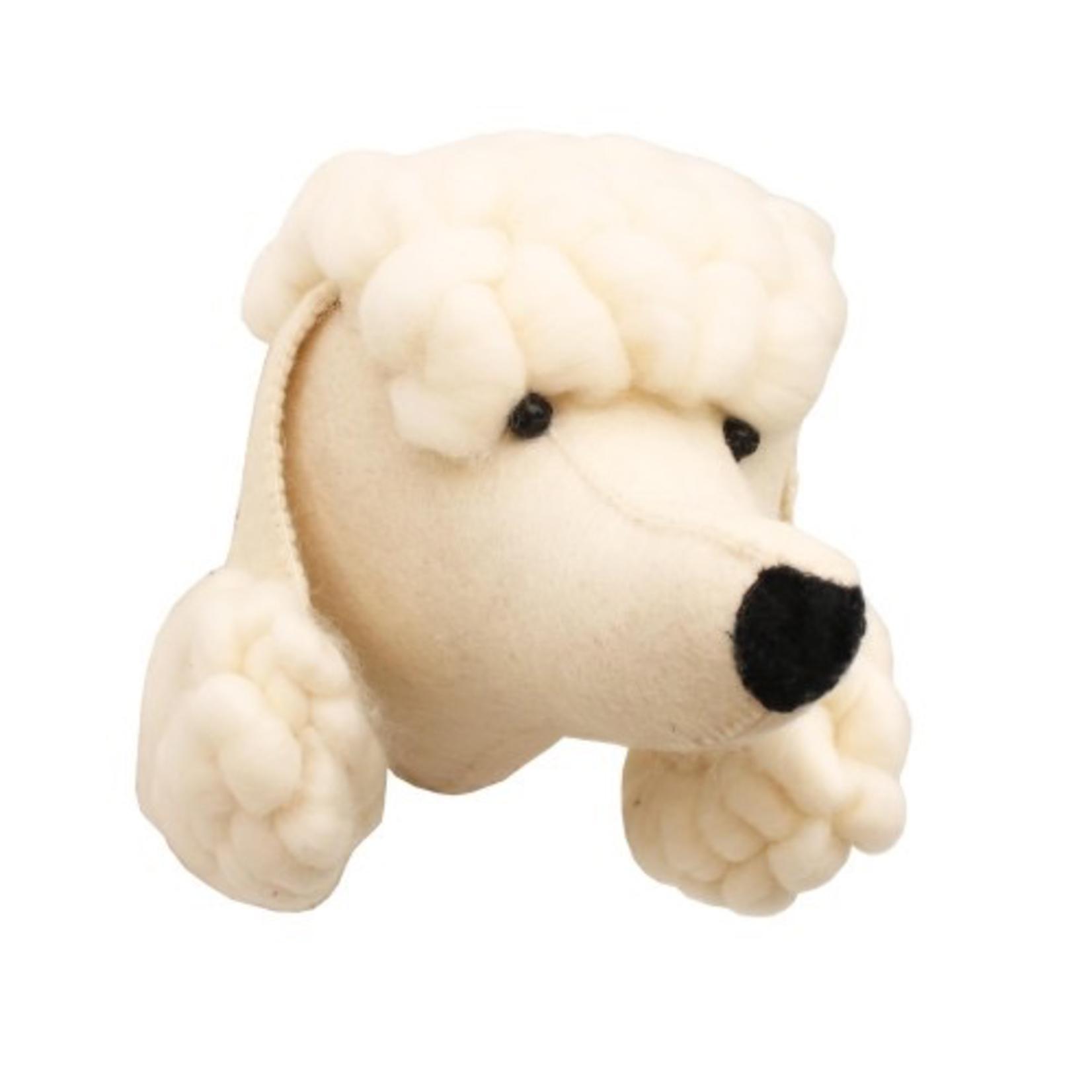 Fiona Walker Fiona Walker Poodle Dog Head