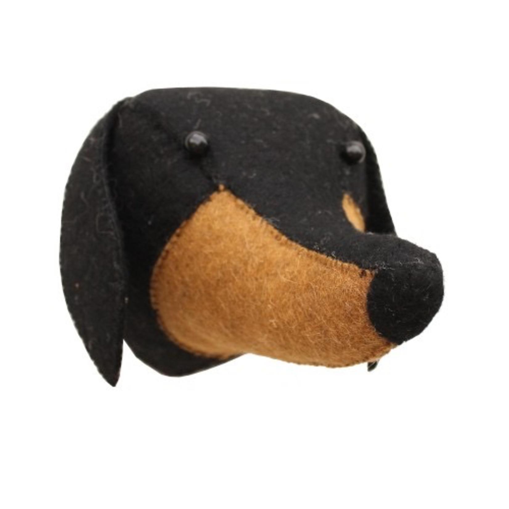 Fiona Walker Fiona Walker Dachshund Dog Head