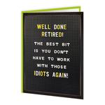 Brainbox Candy Retired Card