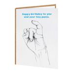 Brainbox Candy Tiny Penis Happy Birthday Card