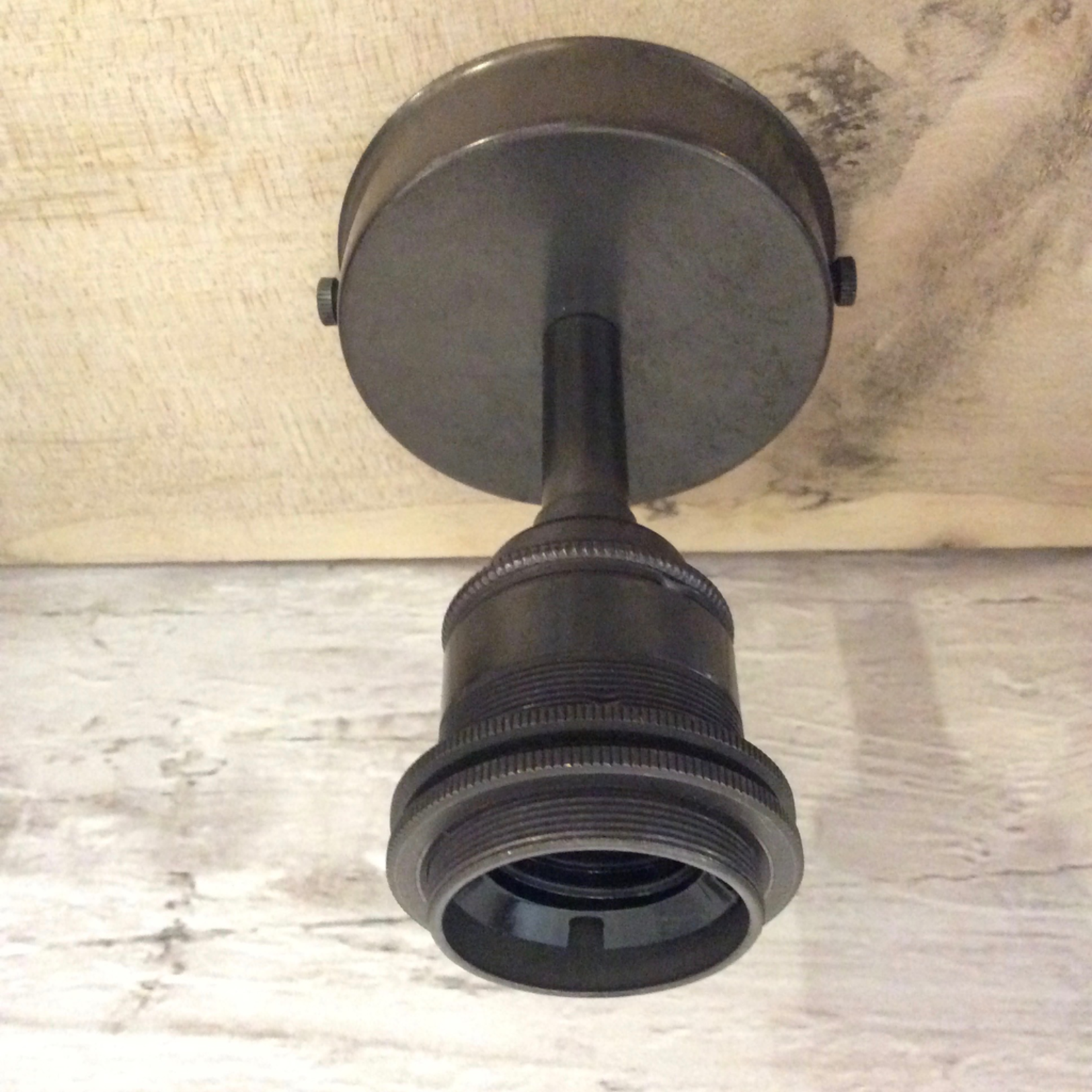 Homebird BRONZE Ceiling Light with 2 Shade Rings