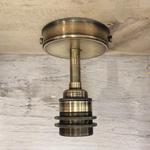 Homebird ANTIQUE BRONZE BRASS Ceiling Light with 2 Shade Rings