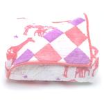 Berties Blankets Berties Blankets Reversible Quilt - pink