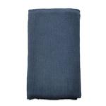 Nk Blue Large cotton throw 125 x 180cm