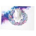 UWP Luxe Unicorn pop-up card