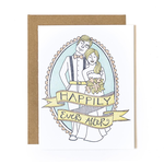 1CANOE2 Happily Ever After Letterpress Card