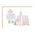 Jade Fisher White Wedding Church Card