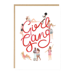 Jade Fisher Girl Gang Friends Card
