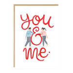Jade Fisher You and Me Card