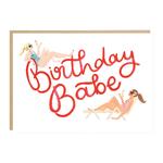 Jade Fisher Birthday Babe Sunbathing Card