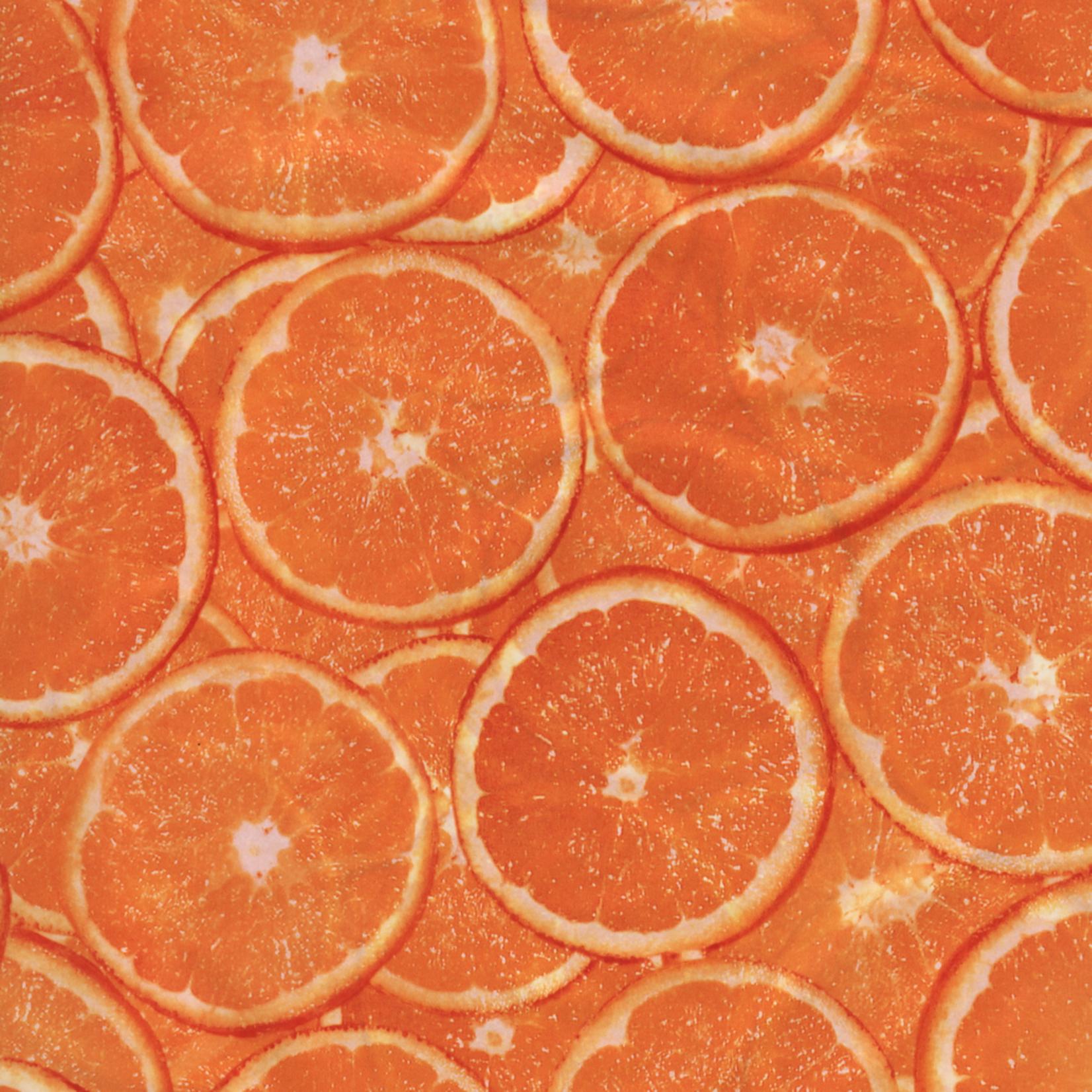 Decopatch Decoupage PAPER 494 orange print