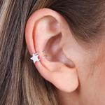 Lisa Angel Sterling Silver Star Ear Cuff
